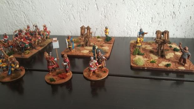late roman miniatures